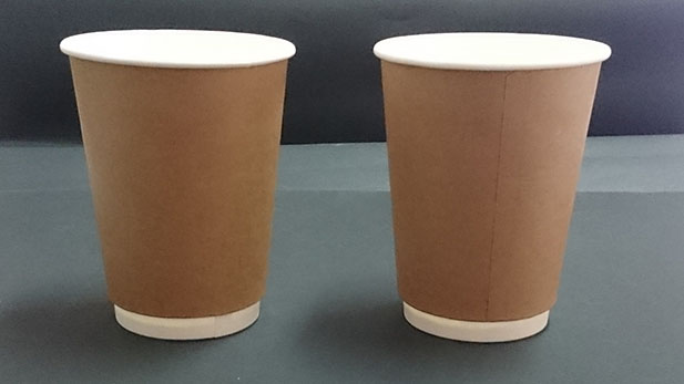 Paper Semi Ecological Craft Paper Cups With Double Wall 8